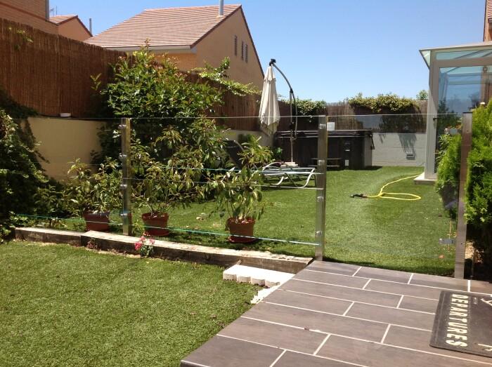 Barandilla En Jardin